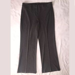 Eloquii Gray Ponte Wide Leg Trousers Size 14